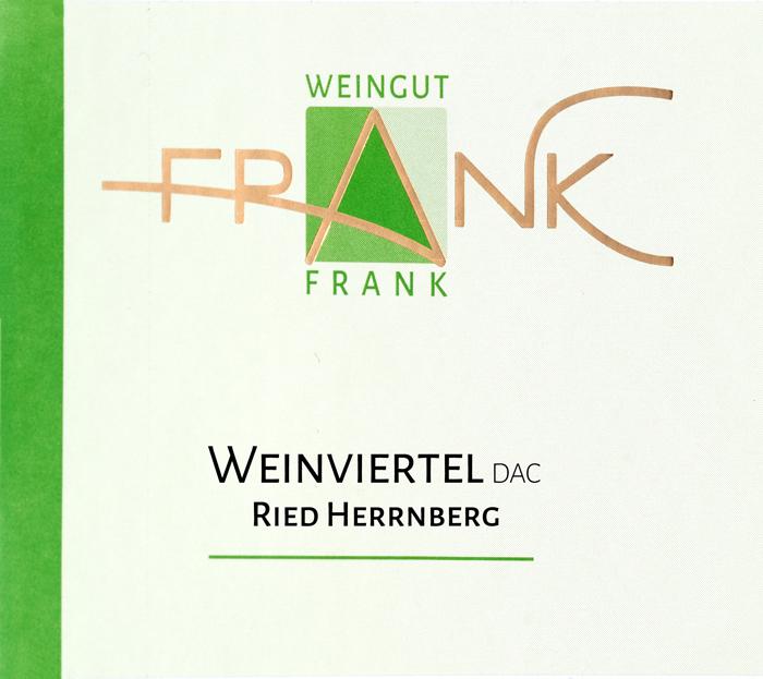 Etikette Weinviertel DAC Herrnberg Weingut Frank