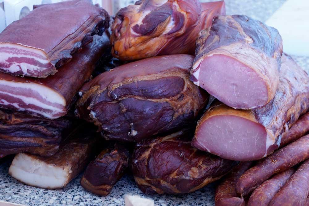 Schweinefleisch Produkte vom Hof